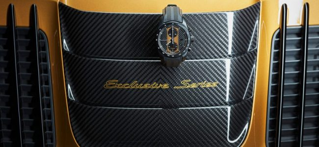 Porsche 911 Exclusive Series' Owners Can Get a Specially Made Chronograph Watch for an Extra $13K