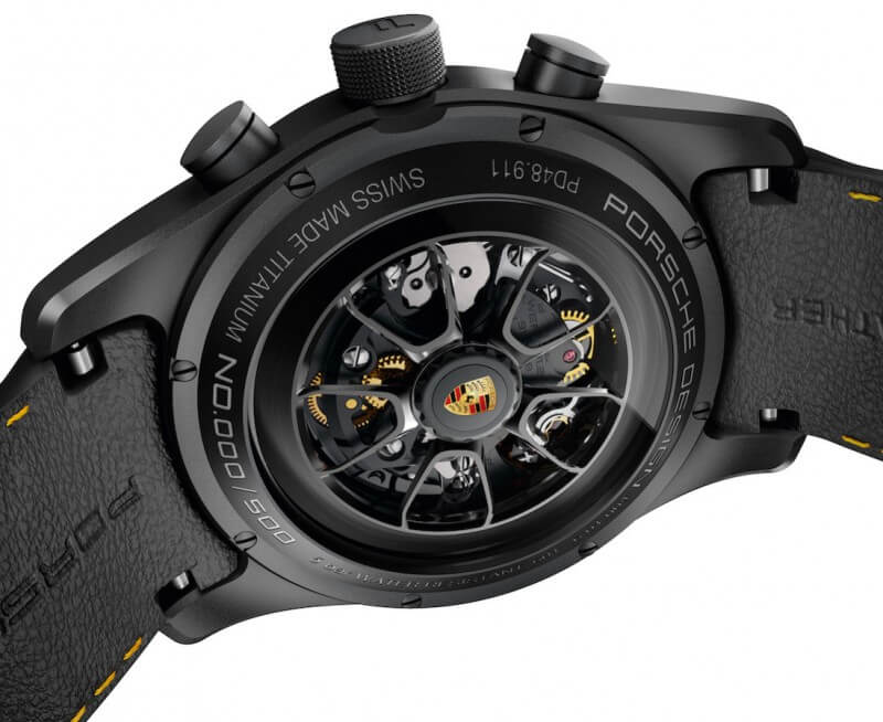 Porsche's 911 Turbo S Exclusive Series Chronograph Watch is As Cool as You Think (20)