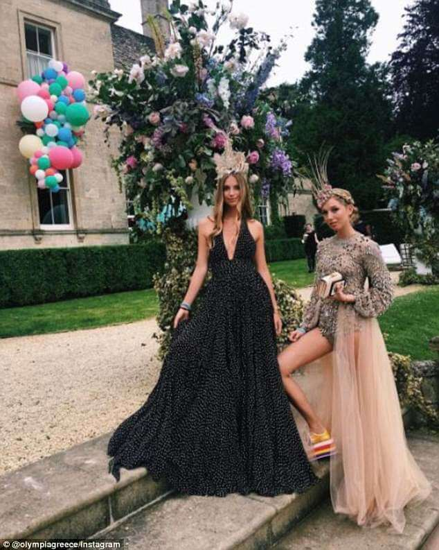 See How Princess Olympia of Greece Spent Her 21st Birthday Party!