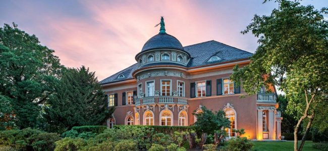 Nestled Among German Palaces in Potsdam This Villa Kampffmeyer Could Be your Next Home
