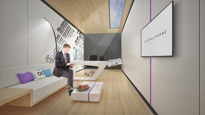 This Place Called Hyperloop Hotel Lets You Travel between Cities without Leaving Your Room
