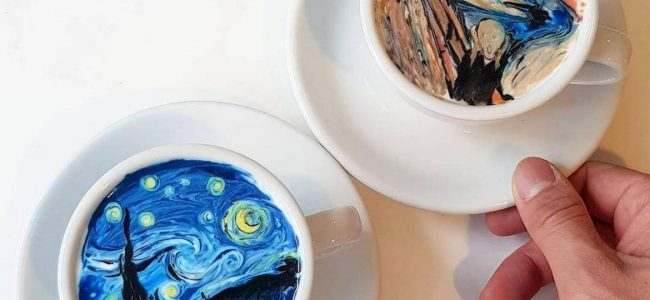 This South Korean Barista's Coffee Art is Making Your Foam Game Look Weak