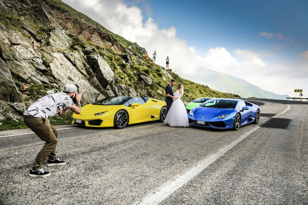 Watch this Video of Six Lamborghini Huracán Riding On Transylvania's Prettiest Driving Road (6)