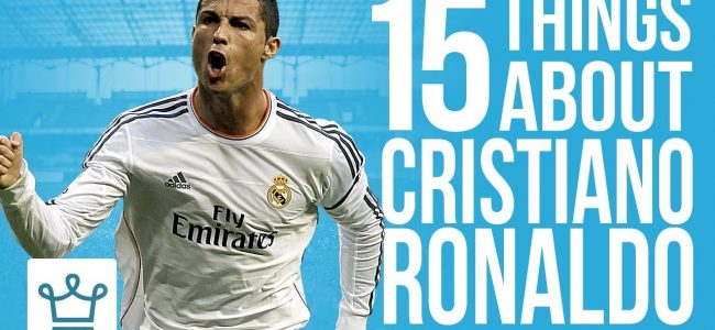 15 Things You Didn't Know About Cristiano Ronaldo