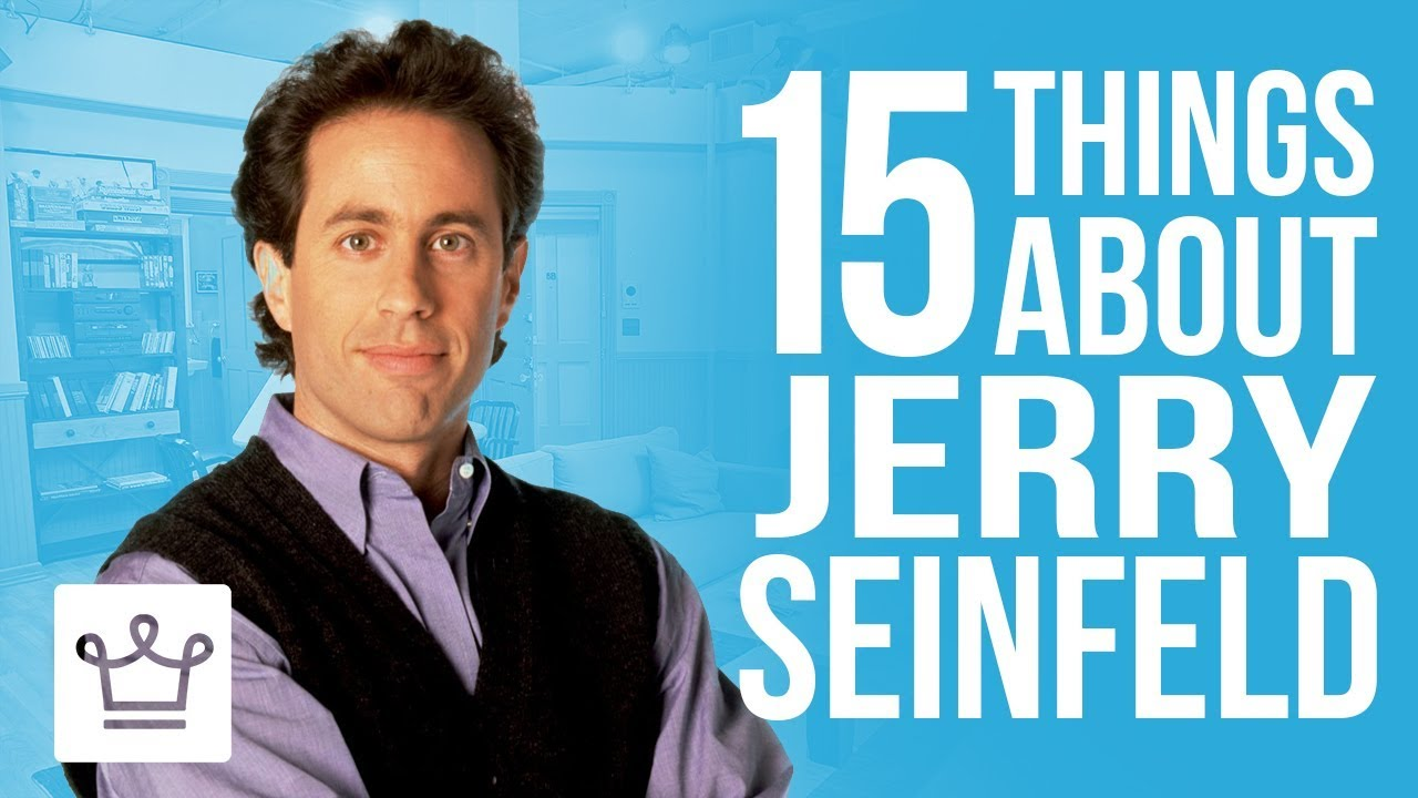 15 Things You Didn't Know About Jerry Seinfeld