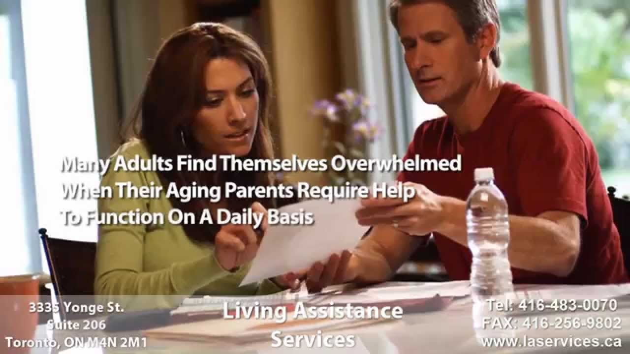 Living Assistance Services Home Care for the Elderly
