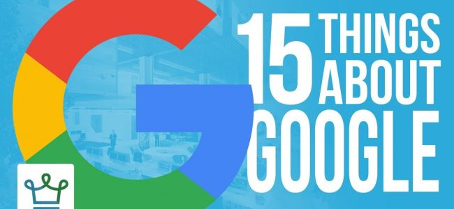 15 Things You Didn't Know About Google