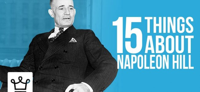 15 Things You Didn't Know About Napoleon Hill