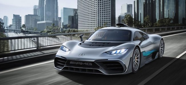 "Check Out the New $2.7 Million Mercedes-AMG Called ""Project ONE"""