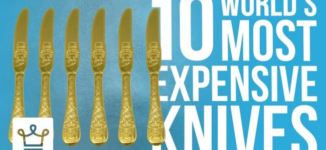 Top 10 Most Expensive Knives In The World
