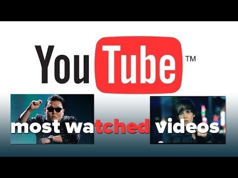 Top 20 Most viewed YouTube videos of all time