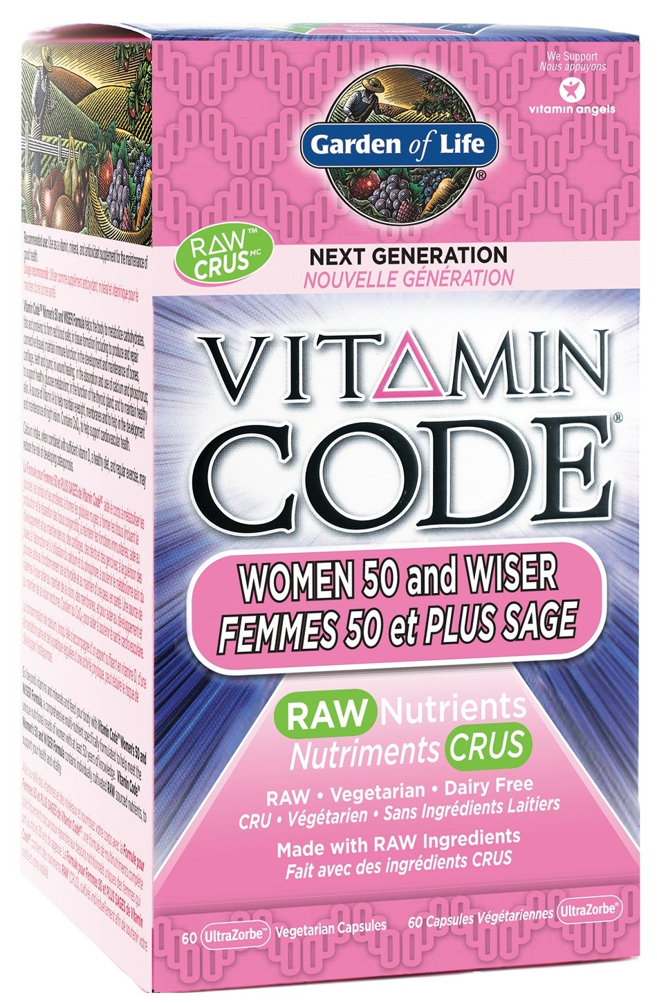 Garden Of Life Releases Vitamin For Women 50 And Over