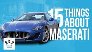 15 Things You Didn't Know About Maserati