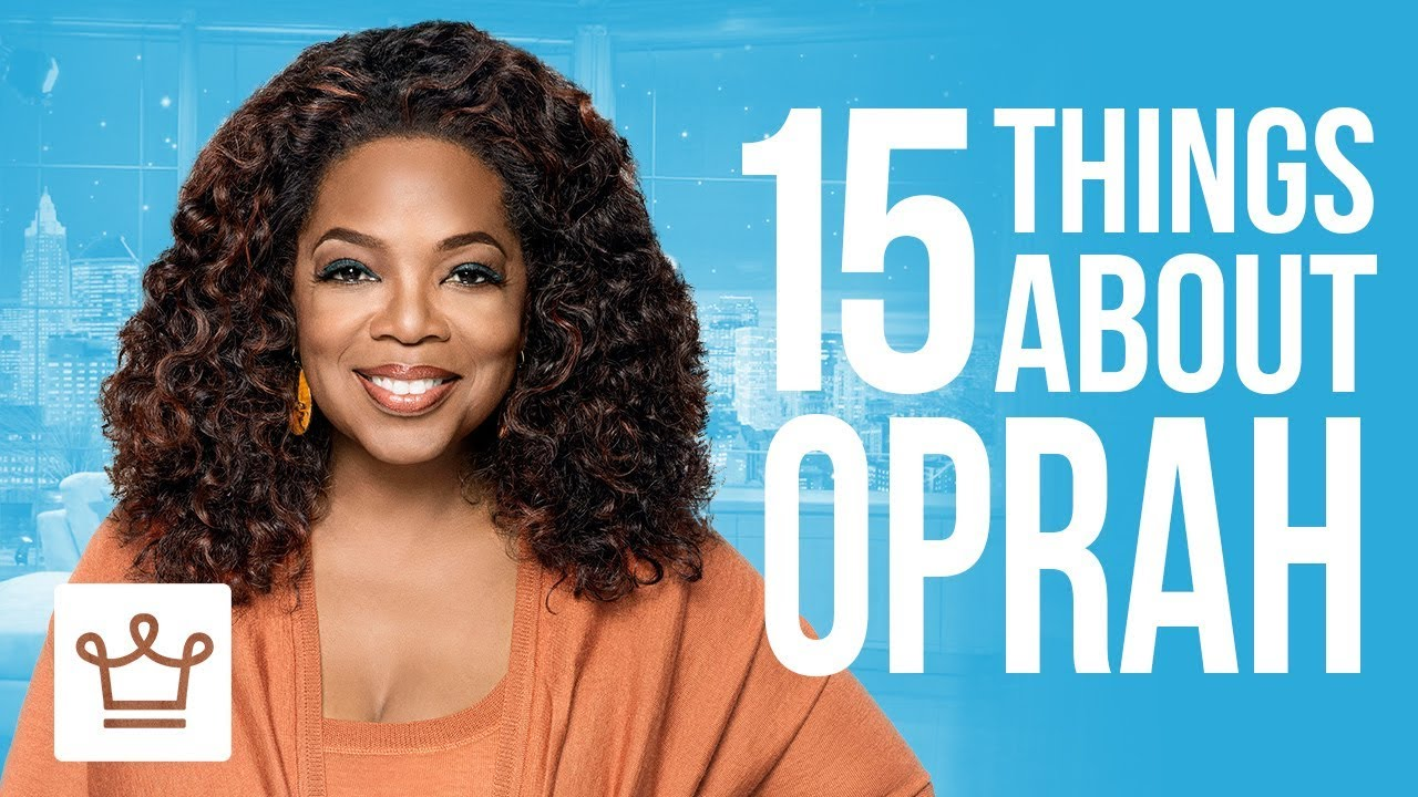 15 Things You Didn't Know About Oprah Winfrey