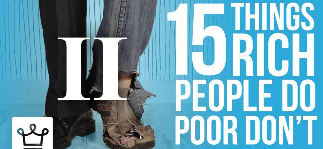 15 things rich people do that the poor don't luxury video alux 2