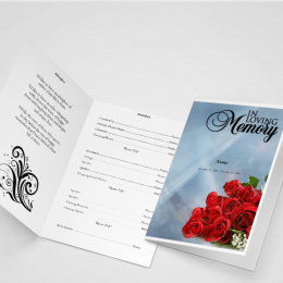 What's Incorporated Within a Funeral Program?