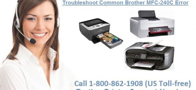 Guide To Troubleshoot Common Brother MFC-240C Error