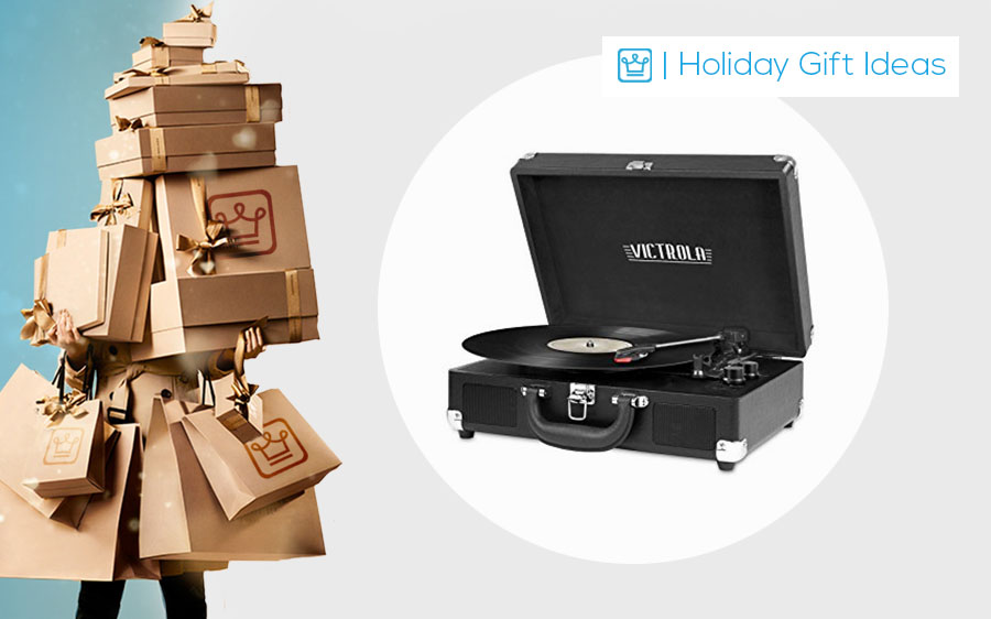 holiday best gift ideas for men and women turntable
