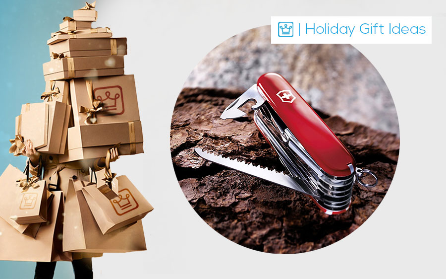 holiday gift swiss army knife