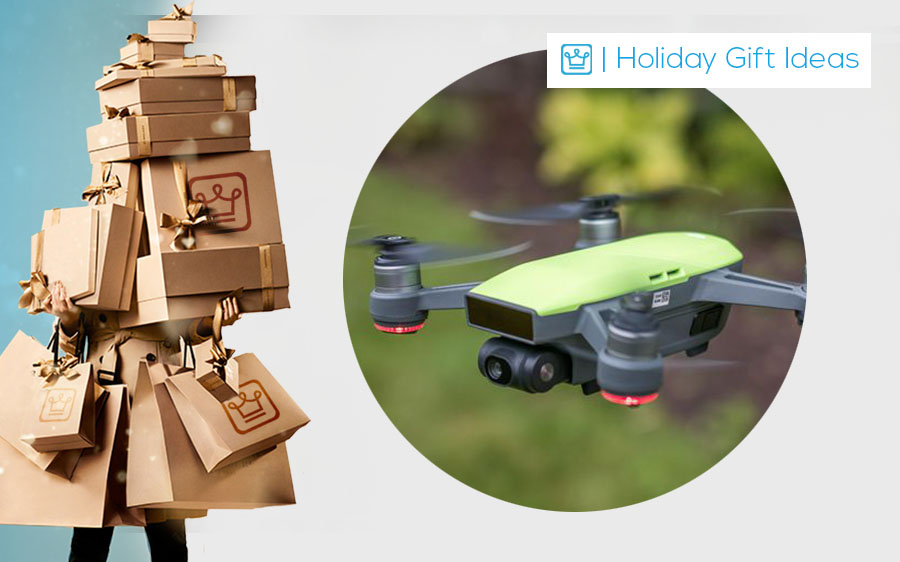 holiday gifts dji spark drone