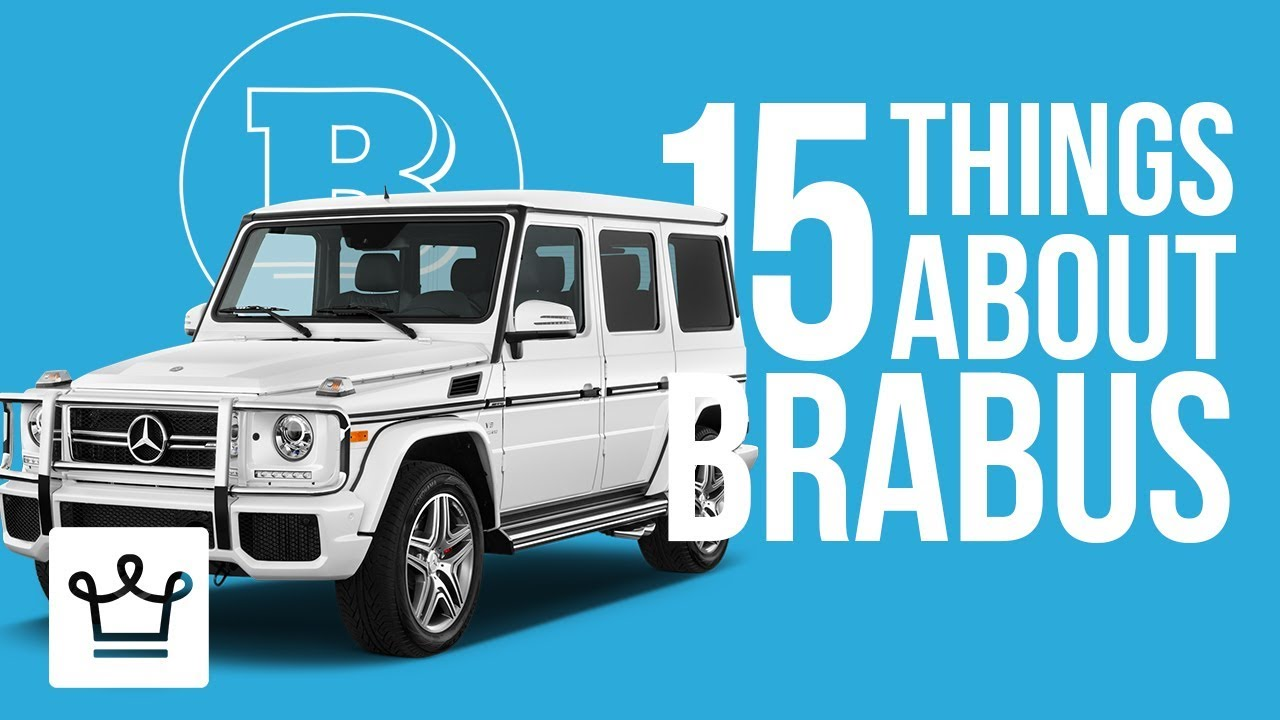 15 Things You Didn't Know About BRABUS