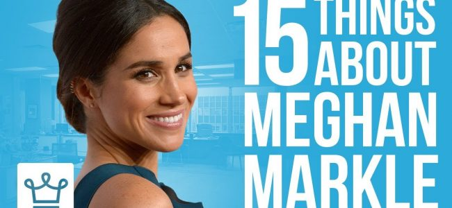 15 Things You Didn't Know About Meghan Markle