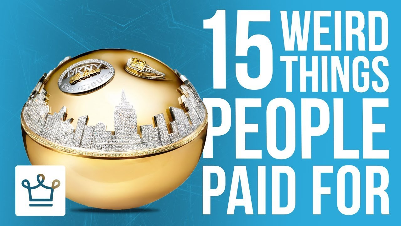 15 Weird Things People Paid A Lot Of Money For