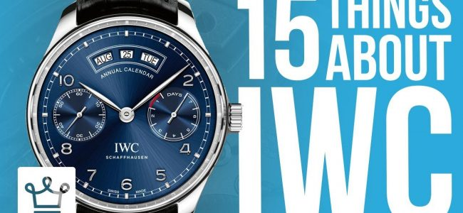 15 Things You Didn't Know About IWC