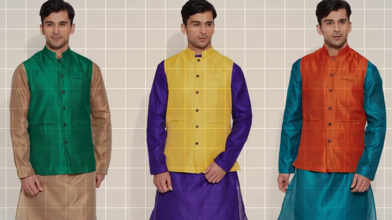 Designer Nehru Jacket for Men