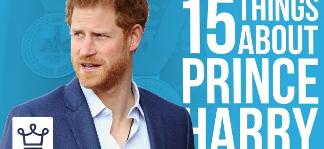 15 Things You Didn't Know About Prince Harry
