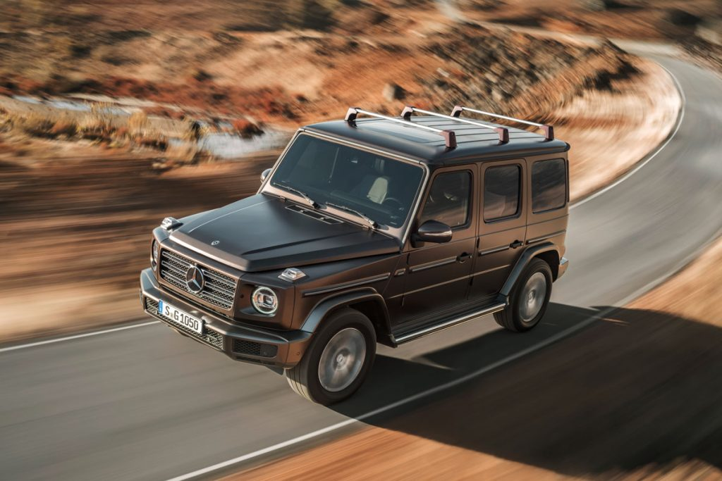the new g-class mercedes 2018