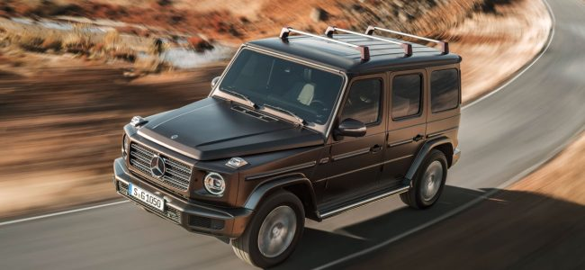 Mercedes-Benz Unveils The New G-Class