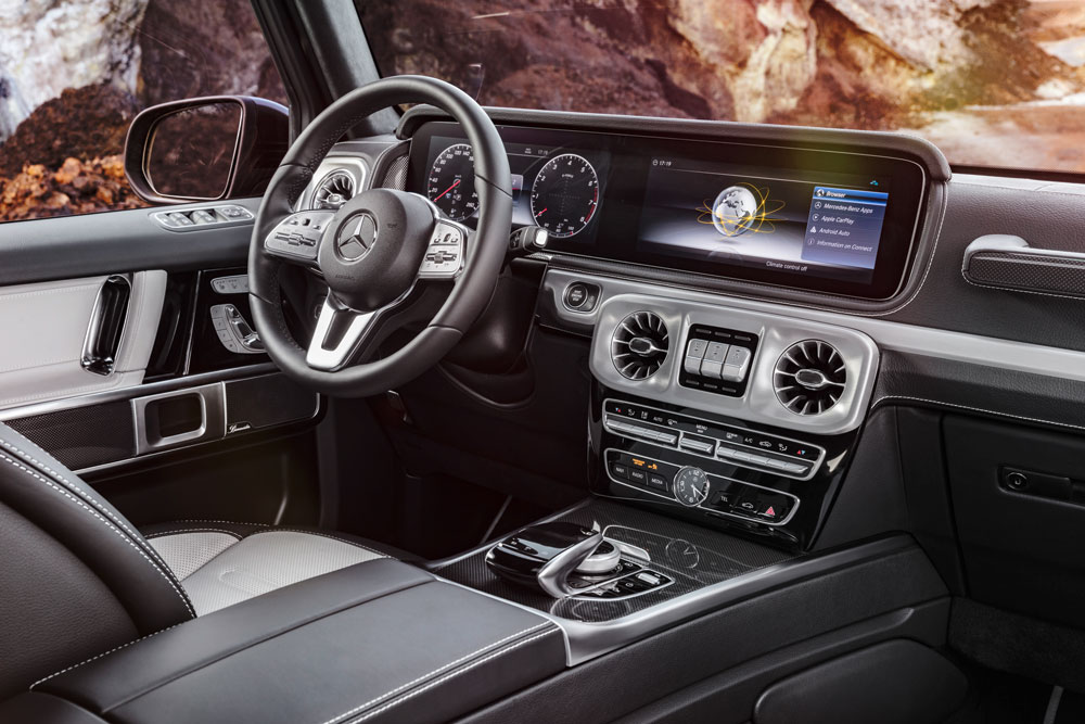 the new g class mercedes 2018 interior