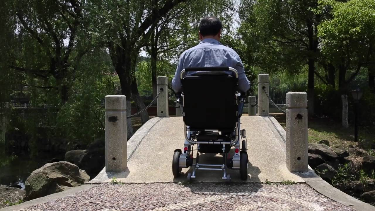 The World's Best Motorized Electric Wheelchair
