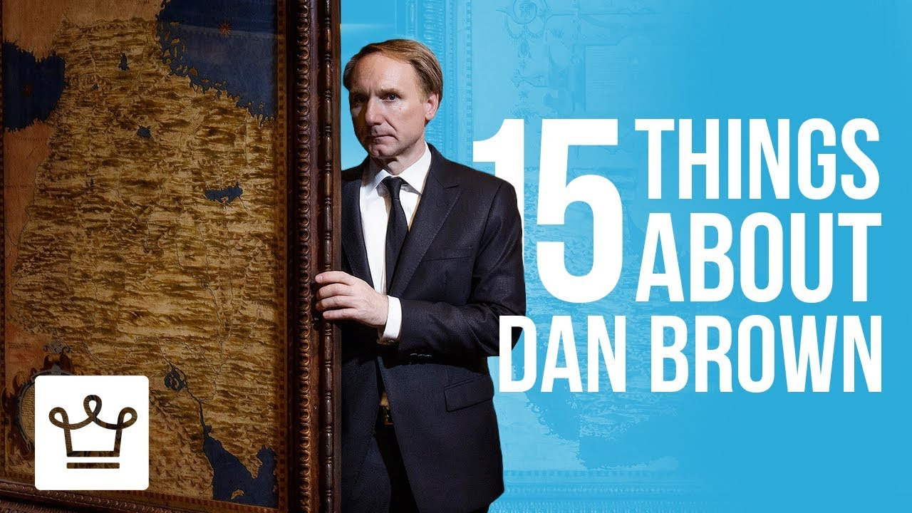 15 Things You Didn't Know About Dan Brown