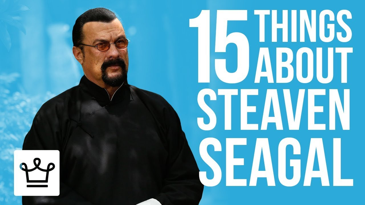 15 Things You Didn't Know About Steven Seagal