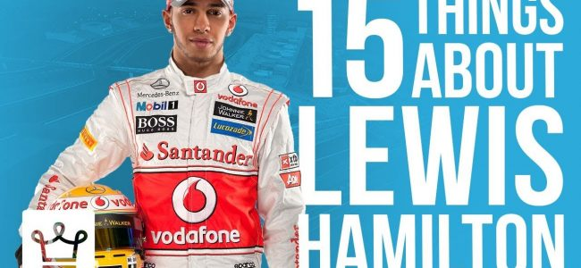 15 Things You Didn't Know About Lewis Hamilton