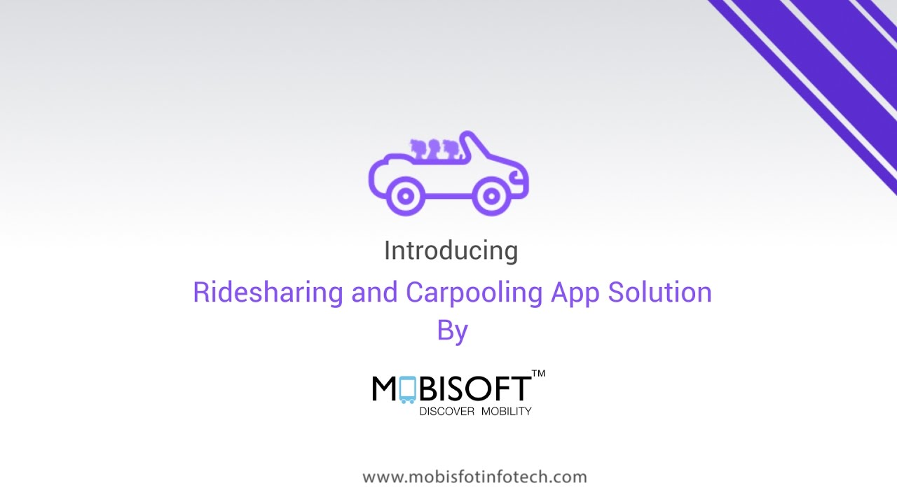 Rideshare And Carpooling App Development Solution