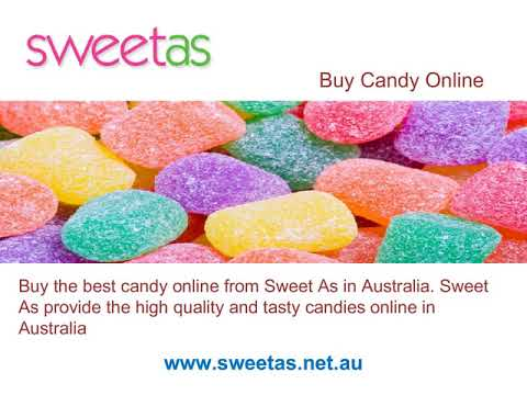 Sweet As- Get Candy Buffet Online in Australia