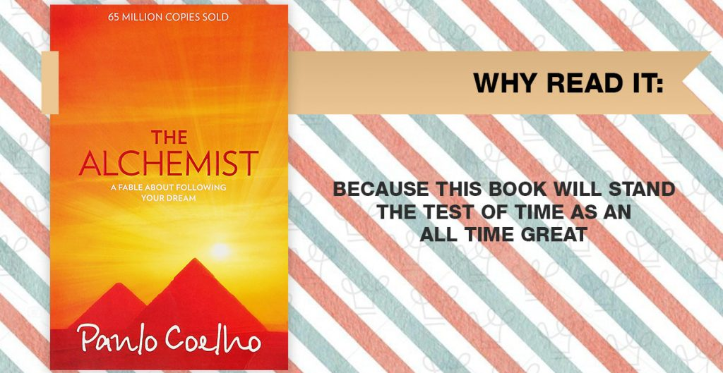 15 books you should read this year according to Alux - The Alchemist by Paulo Coelho