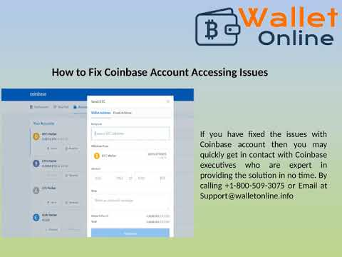 Connection Error in Coinbase Account