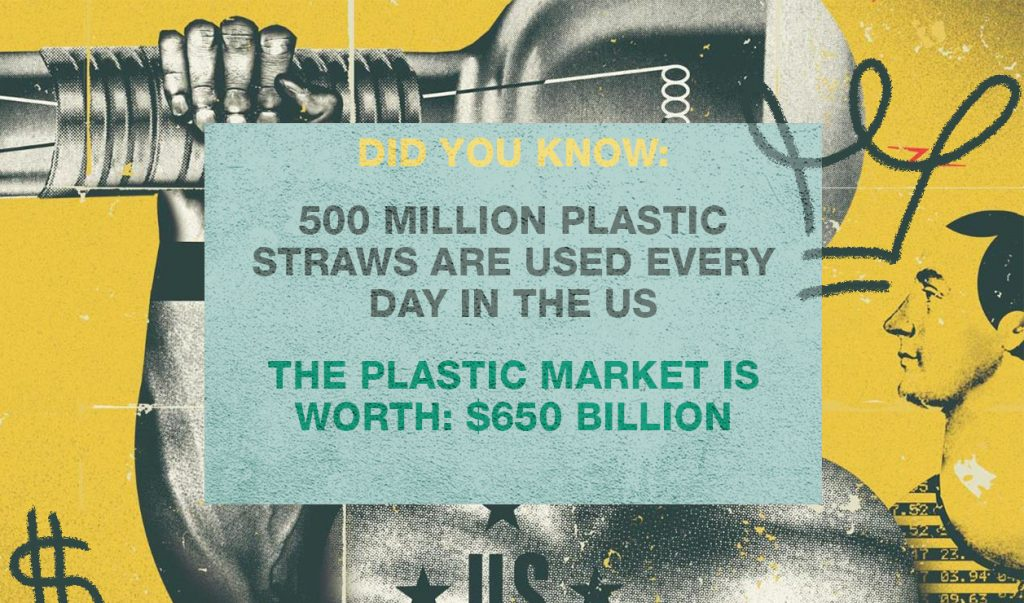 alux 15 problems to solve if you want to be a billionaire 500 million plastic straws are used per day in the us