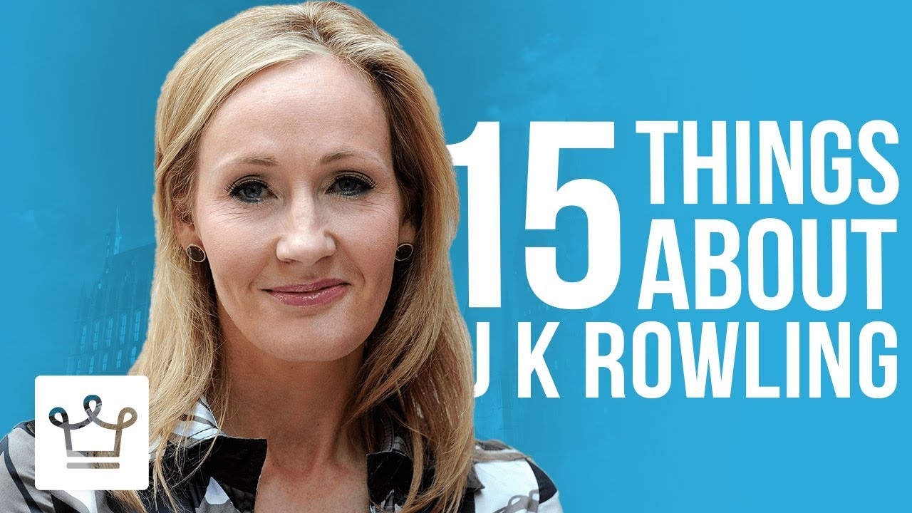 15 Things You Didn't Know About J. K.  Rowling