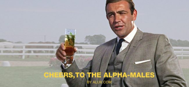signs you're an alpha male alux luxury article cover artwork james bond