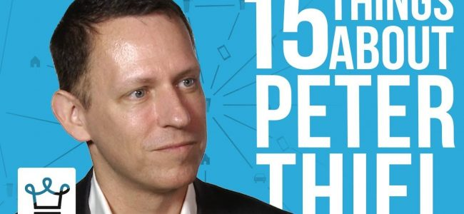 15 Things You Didn't Know About Peter Thiel