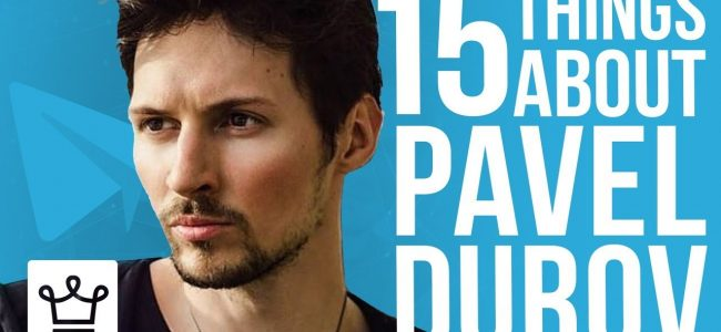 15 Things You Didn't Know About Pavel Durov