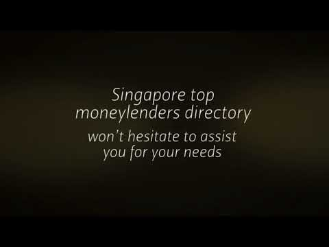 licensed money lenders in Singapore | https://singaporetopmoneylenders.com