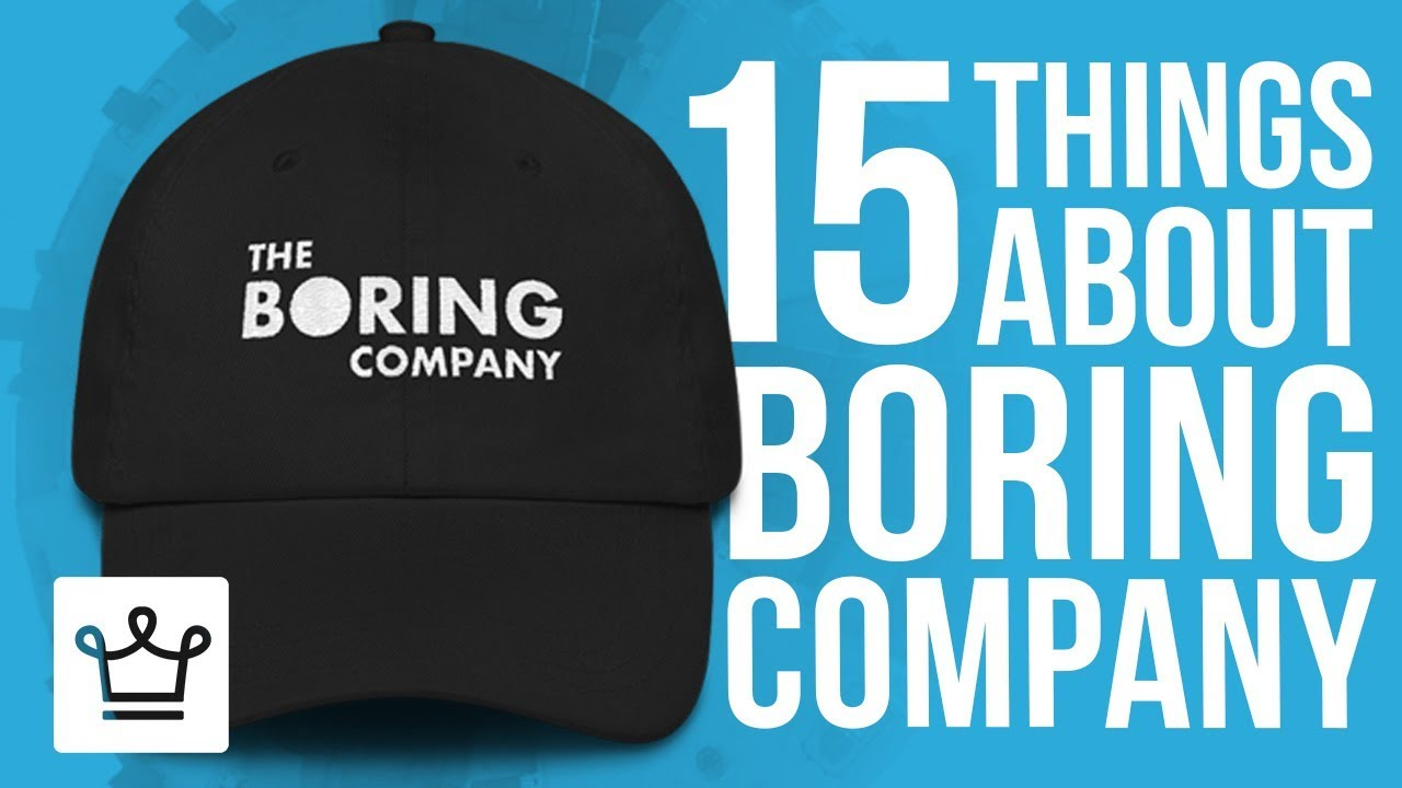 15 Things You Didn't Know About The Boring Company