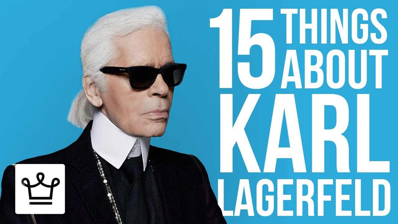 Karl Lagerfeld, fashion designer, is the  genius behind haute couture for many rich and famous people around the world.