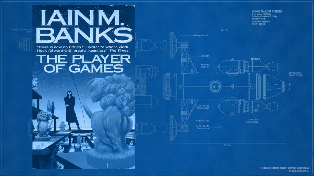 15 books elon musk thinks everyone should read - The Culture series by Iain M. Banks